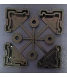 Комплект подпятников для облегченных стеллажей